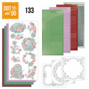 Dot and do 133 - kit carterie 3D - Oiseaux et roses