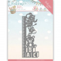 Dies - yvonne creations - Welcome Baby - Toise
