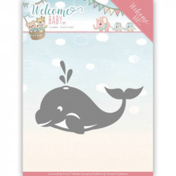 Dies - yvonne creations -  Welcome Baby - Baleine