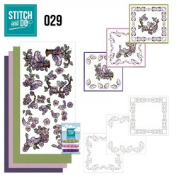 Stitch and do 29 carterie 3D broderie - oiseaux