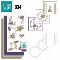Stitch and do 34 carterie 3D broderie - Fleurs des champs