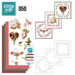 Stitch and do 50 - kit Carte 3D broderie - Mariage
