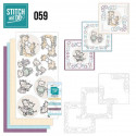 Stitch and do 59 carterie 3D broderie - Naissance