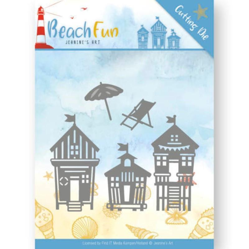 Die - jeaninnes art - Beach Fun - Maisons de plage