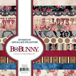 BoBunny Bloc papier scrap 15.2x15.2 36 pages