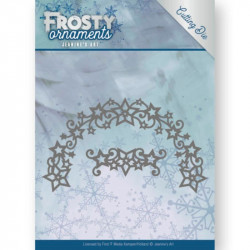 Die - jeaninnes art - Frosty ornaments - Bordures étoiles