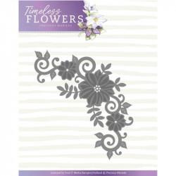 Die - Precious Marieke - Timeless Flowers - Coin Fleurs 11.4 x7 cm