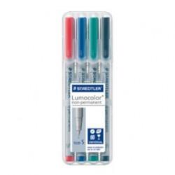 Pochette de 4 Lumocolor® non-permanent pen 311