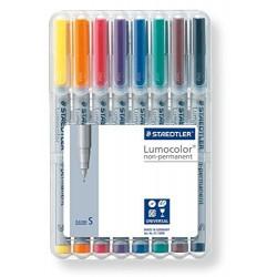 Pochette de 8 Lumocolor® non-permanent pen 311