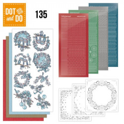 Dot and do 135 - kit Carte 3D - Rêves de Noël