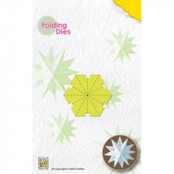 Die pliage papier Etoile Noël mini 4x4,5 cm