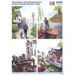 Carterie 3D Prédécoupée A4 - 84010 - recto/verso loisirs