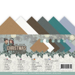 Set 24 feuilles  Amy Design - Christmas Wishes A5 14.8 x 21 cm