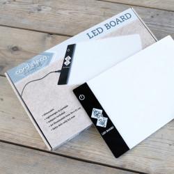 Tablette lumineuse Card Deco 34 x 21 cm