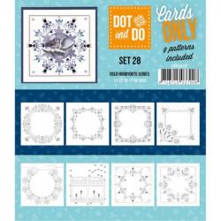 Dot and do Cartes n°28 - Lot de 9 Cartes seules
