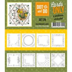Dot and do Cartes n°29 - Lot de 9 Cartes seules