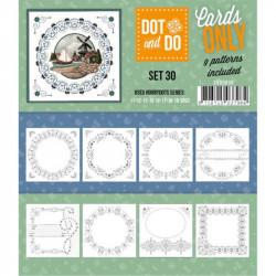 Dot and do Cartes n°30 - Lot de 9 Cartes seules