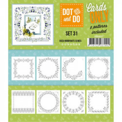 Dot and do Cartes n°31 - Lot de 9 Cartes seules