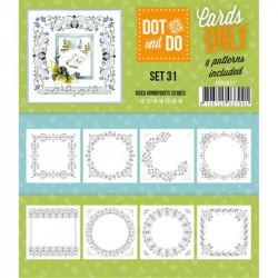Dot and do Cartes n°31 - Lot de 9 Cartes seules