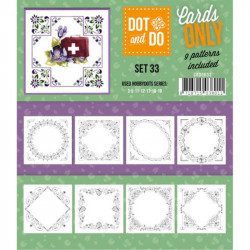 Dot and do Cartes n°33 - Lot de 9 Cartes seules