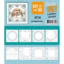Dot and do Cartes n°34 - Lot de 9 Cartes seules