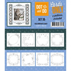 Dot and do Cartes n°35 - Lot de 9 Cartes seules