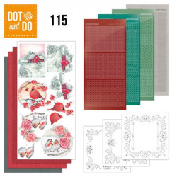 Dot and do 115 - kit Carte 3D - Winter Classics