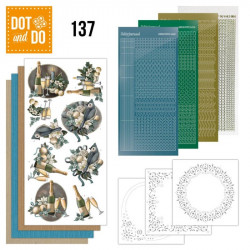 Dot and do 137 - kit Carte 3D - Christmas Wishes