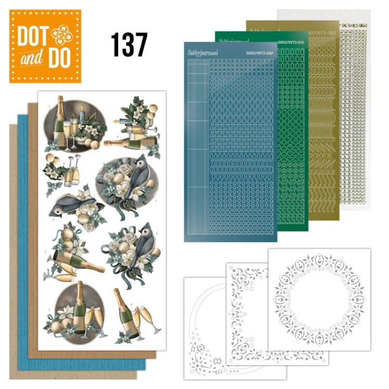 Dot and Do Country Christmas DODO062 Hobbydots Card Set