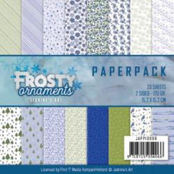 Bloc de papier -  Jeanine's Art - Frosty Ornaments 15.2 x 15.2