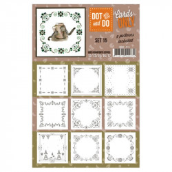 Dot and do Cartes n°15 - Lot de 9 Cartes seules