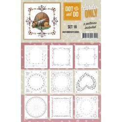Dot and do Cartes n°16 - Lot de 9 Cartes seules