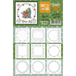 Dot and do Cartes n°17 - Lot de 9 Cartes seules