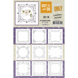 Dot and do Cartes n°18 - Lot de 9 Cartes seules