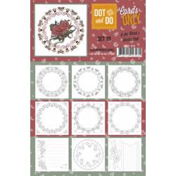 Dot and do Cartes n°19 - Lot de 9 Cartes seules