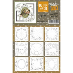 Dot and do Cartes n°20 - Lot de 9 Cartes seules