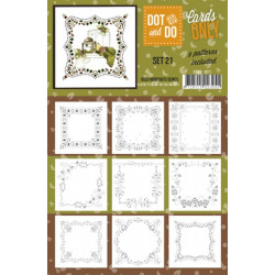 Dot and do Cartes n°21 - Lot de 9 Cartes seules