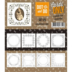 Dot and do Cartes n°25 - Lot de 9 Cartes seules