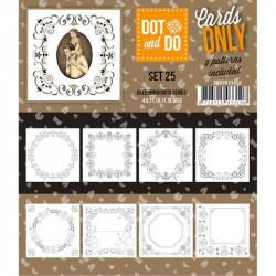 Dot and do Cartes n°25 - Lot de 9 Cartes seules