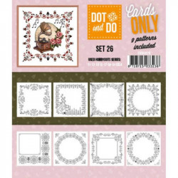 Dot and do Cartes n°26 - Lot de 9 Cartes seules