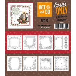 Dot and do Cartes n°27 - Lot de 9 Cartes seules