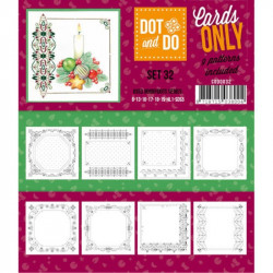 Dot and do Cartes n°32 - Lot de 9 Cartes seules