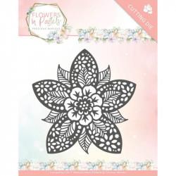 Die - precious marieke - Flowers in pastels - Fleur dentelle