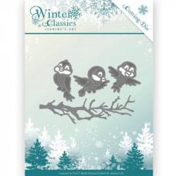 Die - jeaninnes art - winter classics - oiseaux