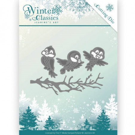 Die - jeaninnes art - JAD10027 - winter classics - oiseaux