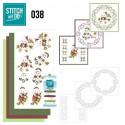 Stitch and do 38 Carte 3D broderie - Enfants à Noël