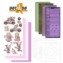 Dot and do 4 - Kit Carte 3D - Les filles