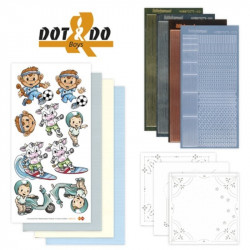 Dot and do 005 - Kit Carte 3D - Les garçons