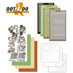 Dot and do 011B - Kit Carte 3D - Mariage
