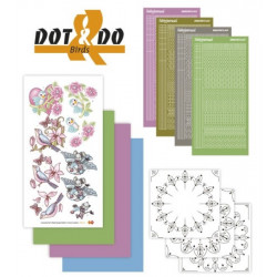 Dot and do 012B - Kit Carte 3D - Les oiseaux